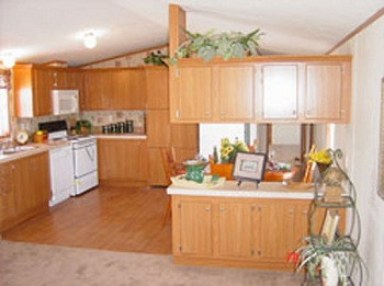 Single Wide Mobile Home Floor Plan Spring View 713ct
