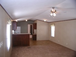 single wide mobile home floor plan of living room