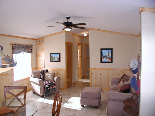 single wide mobile home floor plan living room